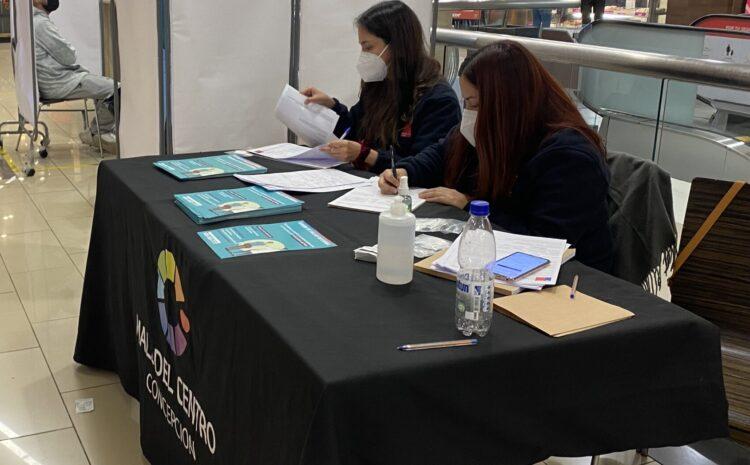 Toma  PCR gratis en Mall del Centro Concepción